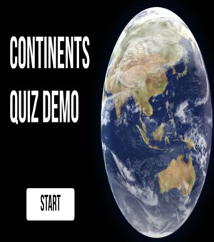 link to continents quiz project