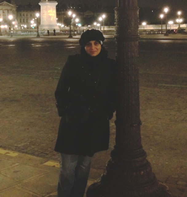 image of Noura Sa'd in Paris