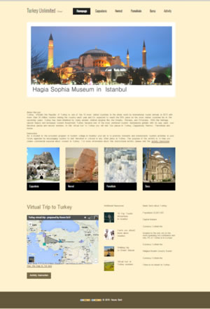 link to Turkey virtual tour project